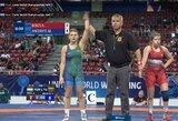 Pasaulio jaunių imtynių čempionate – dvi M.Ančerytės pergalės