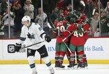 NHL lygoje per 63 sekundes pelnyti keturi įvarčiai