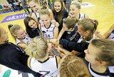 Vilniuje rinksis geriausios rytų Europos moterų krepšinio komandos