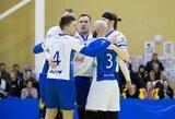 Neįtikėtiną penkių setų trilerį Latvijoje laimėję Vilniaus tinklininkai išlygino Baltijos lygos ketvirtfinalio serijos rezultatą