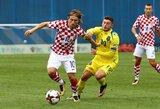 Atkeltose rungtynėse kroatai išvargo pergalę prieš Kosovą