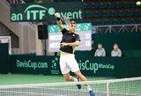 Beveik visi lietuviai antrą savaitę iš eilės gerino pozicijas pasauliniame tenisininkų reitinge
