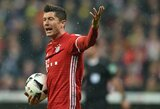 """Artimiausiose Čempionų lygos rungtynėse """"Bayern"""" turės verstis be R.Lewandowskio"""