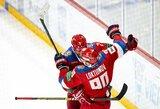 Euroturo ledo ritulio turnyre rusai tapo vienvaldžiais lyderiais
