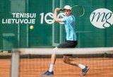 Europos jaunių teniso čempionatuose – nuviliantys lietuvių rezultatai