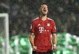 """Vokietijos taurėje – """"Bayern"""" pergalė prieš regioninės lygos komandą"""