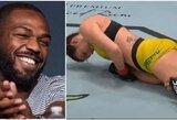 J.Jonesą sužavėjusi M.Dern narve sukūrė istoriją: tokio pergalingo veiksmo moterų UFC dar nebuvo