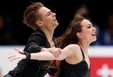 Lietuvos šokių ant ledo pora Latvijoje – penkta
