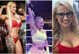 """""""Netikra krūtinė padeda"""": boksininkė dėl pasaulio čempionės diržo kovos vos po 4 pasirodymų ringe"""