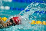 Londono olimpinių žaidynių dalyvė Rusijos plaukikė dėl dopingo vartojimo diskvalifikuota 2,5 metų