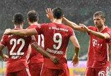 """Dešimtyje rungtyniauti likęs """"Bayern"""" užsitikrino Vokietijos čempionų titulą"""