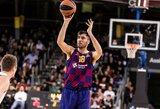 """""""Barcelona"""" išsaugojo rotacijos krepšininką"""