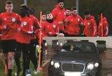"""Prieš A.Sanchezo debiutą – jo automobilio ir """"Yeovil"""" ekipos vertės palyginimas"""