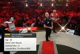 D.Labanauskas pirmą kartą karjeroje pateko į pasaulio smiginio čempionato aštuntfinalį