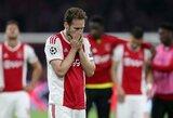 """Iš Čempionų lygos su """"Ajax"""" iškritęs D.Blindas: """"Nežinau, kaip po šito reikės atsigauti"""""""