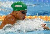 Visas varžoves aplenkusi R.Meilutytė ramiai pateko į Europos čempionato pusfinalį