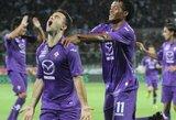 """Ambicingoji """"Fiorentina"""" sezoną pradėjo pergalingai"""