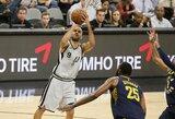 """T.Parkeris tikisi pratęsti kontraktą su """"Spurs"""" ekipa"""