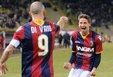 """""""Bologna"""" po sunkios kovos įveikė """"Genoa"""""""
