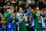 Rinktinių reitinge Lietuva prarado poziciją