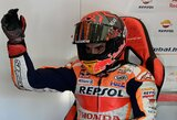 Žastikaulį susilaužęs M.Marquezas kvalifikacijoje liko paskutinis, F.Quartararo vėl startuos pirmas