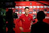 """G.Southgate'as: """"C.Ronaldo sugrįžimas į Angliją – naudingas dėl konkurencijos"""""""
