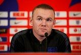 W.Rooney atkleidė geriausią trenerį, su kuriuo jis yra dirbęs
