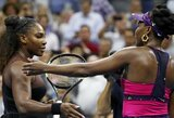 Seserų Williams dvikovoje  - triuškinanti Serenos pergalė