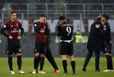 """Milano derbyje """"Milan"""" paskutinę minutę išleido pergalę iš savo rankų"""
