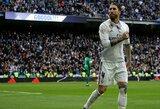 """Toliau įvarčius mušantis S.Ramosas padėjo """"Real"""" klubui laimėti"""
