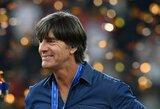 Pasaulio čempionato belaukiant: Vokietijos rinktinė paskelbė išplėstinę sudėtį, J.Lowas pasirašė naują kontraktą