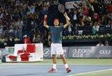 Šveicaras R.Federeris šeštą kartą triumfavo ATP turnyre Dubajuje