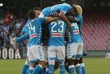 """""""Napoli"""" namuose nugalėjo """"Sassuolo"""""""