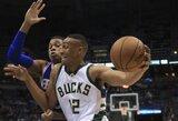 Gražiausiu NBA dienos epizodu pripažintas ypatingas J.Parkerio dėjimas
