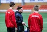 """Kovą su koronavirusu lyg futbolo rungtynes matantis """"Sūduvos B"""" treneris paliko Lietuvą"""