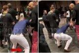 Paviešintas vaizdo įrašas iš C.McGregoro incidento su gerbėju