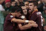 """Įsibėgėjusios """"Roma"""" ekipos nesulaikė ir """"Napoli"""" klubas"""