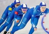 Daugiau nei 350 tūkst. žmonių pasirašė peticiją dėl Pietų Korėjos greitojo čiuožimo atstovių diskvalifikacijos už patyčias
