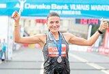 """Daugkartiniai maratono Vilniuje nugalėtojai: """"Bėgdami apie medalius negalvojame"""""""