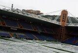 """Dėl galimo potvynio atšauktos """"Inter"""" ir """"Sampdoria"""" ekipų rungtynės"""