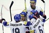 Pasaulio IA ledo ritulio čempionatas prasidėjo netikėtu rezultatu