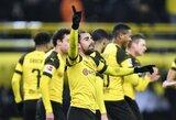 """Nestabdanti """"Borussia"""" Vokietijoje iškovojo šeštą pergalę iš eilės"""
