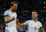 T.Courtoisas pabrėžė H.Kane'o ir Anglijos rinktinės talentą