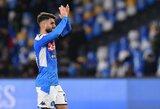 """Koronaviruso grėsmę ignoruojanti """"Napoli"""" pradės rengti kitą savaitę treniruotes"""