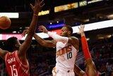 """S.Weemsas puikiai skirstė kamuolius, tačiau """"Suns"""" triuškinamai pralaimėjo"""