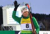 """Biatlono istoriją rašantis K.Dombrovskis """"Po finišo nesitikėjau išlikti tarp stipriausių"""""""
