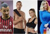 Krito vienas kitam į akį? Italijoje – slaptas Z.Ibrahimovičiaus pasimatymas su sporto žurnaliste