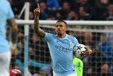 """Anglija: G.Jesuso dublis padėjo """"Manchester City"""" įveikti nukraujavusius """"Wolverhampton"""""""