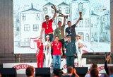 Traukos lenktynių nugalėtojai ir prizininkai Palangoje pergales šventė ragaudami pieną