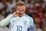 Deramas atsisveikinimas: tarptautinę karjerą jau baigęs W.Rooney sugrįš paskutinėms rungtynėms Anglijos rinktinėje